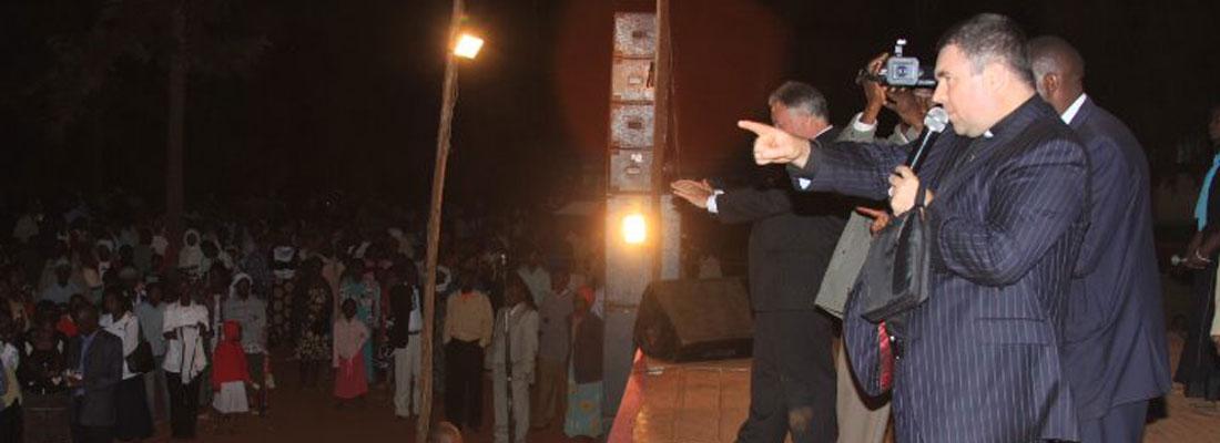 Bishop Evans in Africa Mission